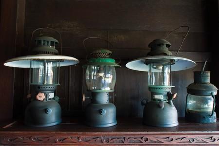 Antique Oil Lantern  Stock Photo - 8076961