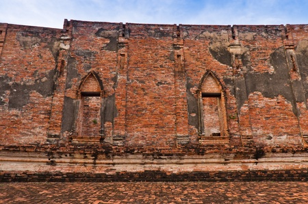 Buddhist temple ruins in Thailand  Stock Photo