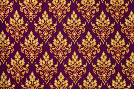 Pattern of Thailand native cloths Stock Photo - 8898100