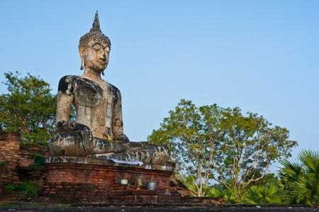 buddha staue in Thailand.