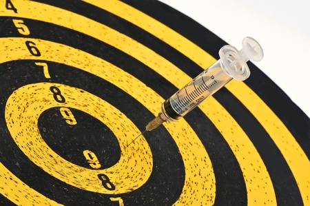 health industry: Syringes and Target