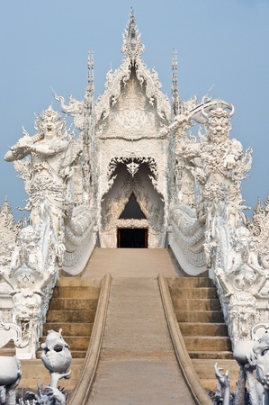 God of death statue, Wat Rong Khun,Thailand Stock Photo - 13343691