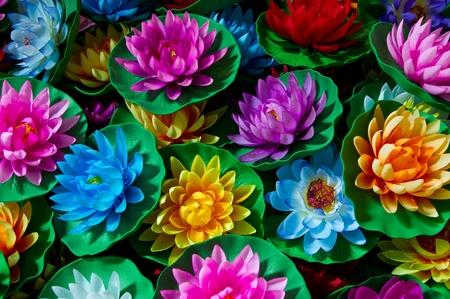 Artificial lotus flowers