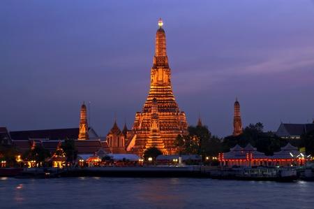 The Temple of Dawn  ,Bangkok, Thailand