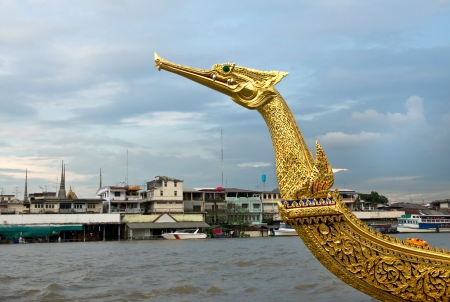 barge:  The Royal Barge Suphannahong in Thailand