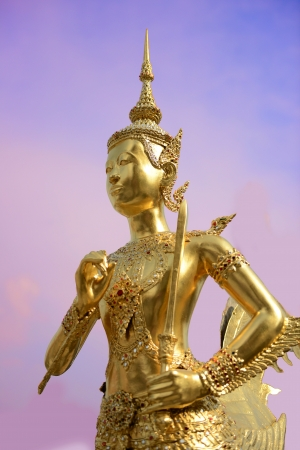Golden Angle at Wat Pra Kaew Grand Palace, Bangkok ,Thailand