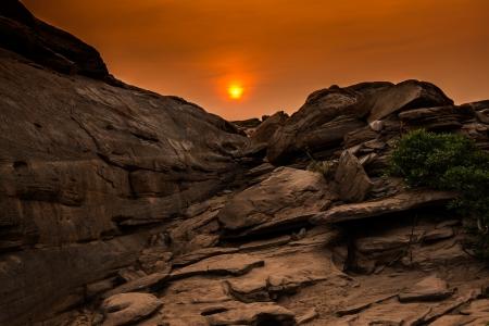 Sam-Pan-Bok Grand Canyon, Ubon Ratchathani, Thailand