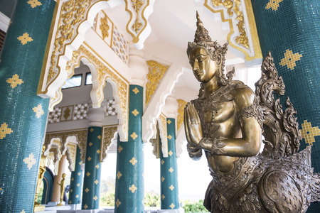 Kinnara statue - a kind of mythological creature