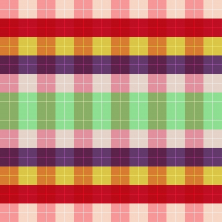 Thai fabric patterns vector Vector