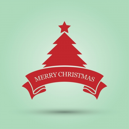 Merry Christmas, vector illustration  Vector