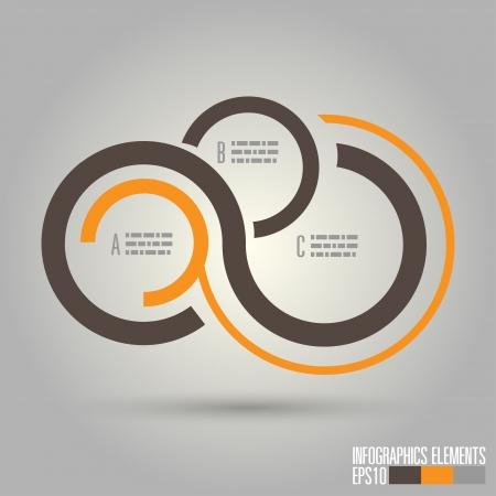 Modern infographics, Vector illustration