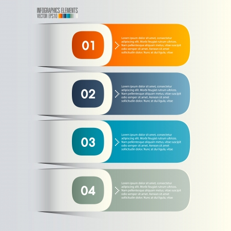 Modern infographics, Vector illustration Stock Vector - 21699597