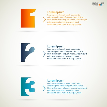Modern infographics, Vector illustration  Vector