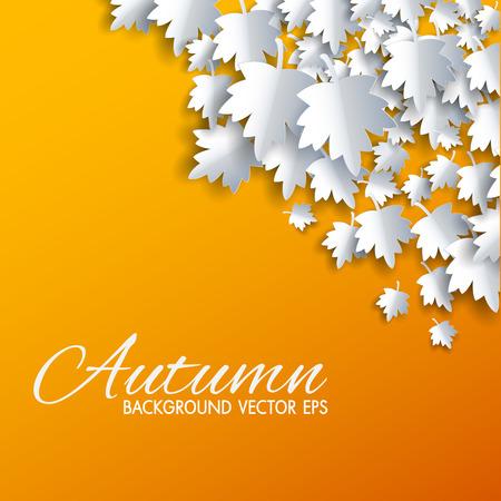 otoño de fondo abstracto