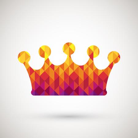 symbol with colorful diamond