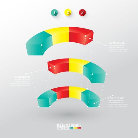 modern infographics template Vector