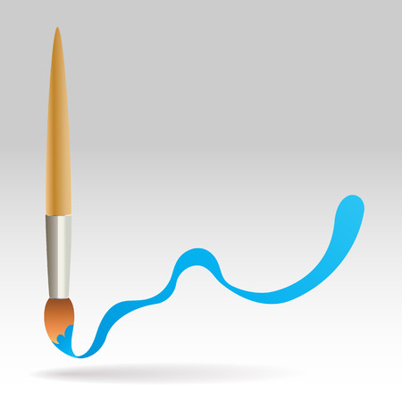 paint brush abstract background