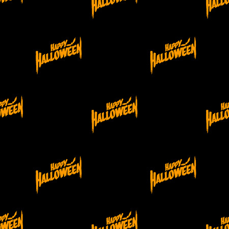 haloween seamless background Vector