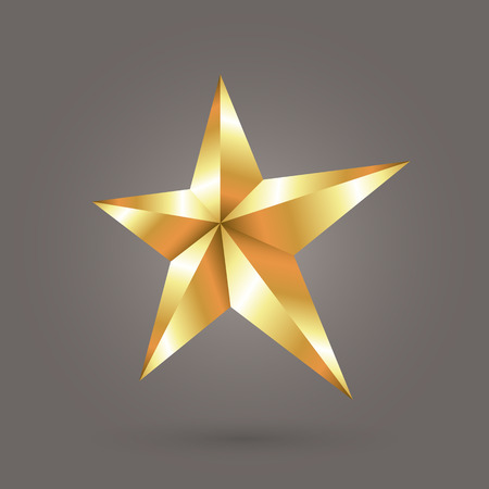 gold star: gold star Illustration