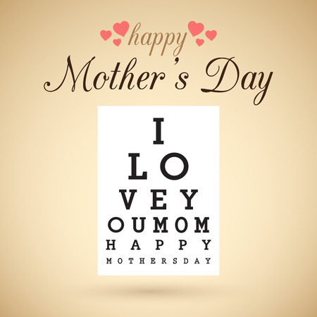 happy mother s day Vector