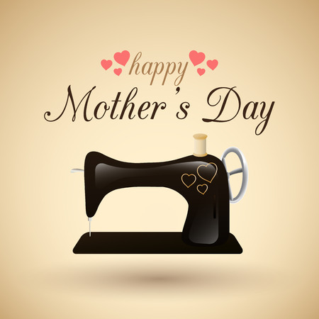 retro type: happy mother s day