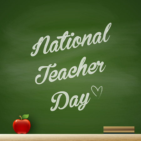 manzana: Día Nacional del Maestro