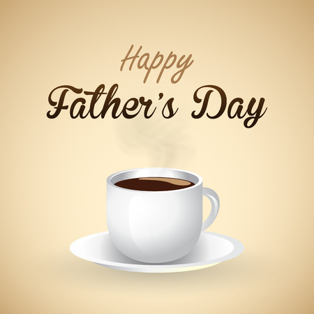 man coffee: happy father s day background