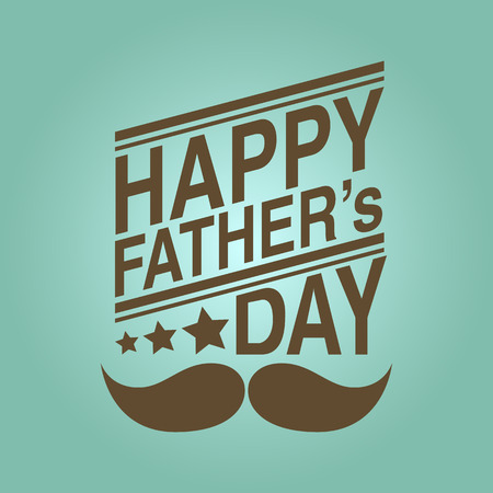 happy father s day background Vector