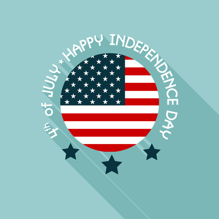 independent day: Happy independence day United States of America, 4th of July