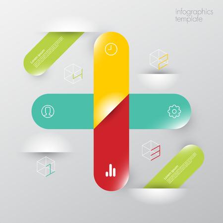 great success: modern infographics template