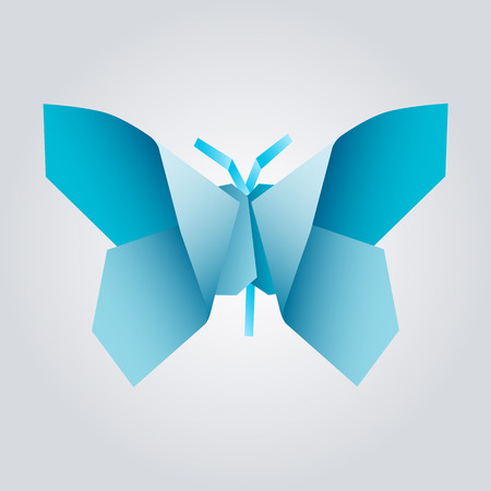 origami butterfly  Vector