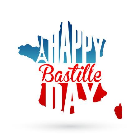 bastille: 14th July Bastille Day background