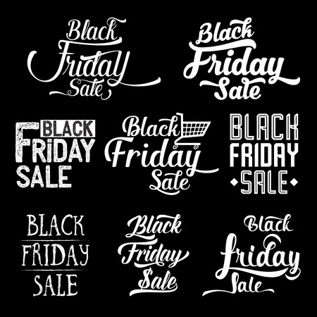 black friday: black friday background
