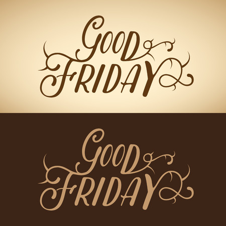 good friday: Good Friday background Illustration