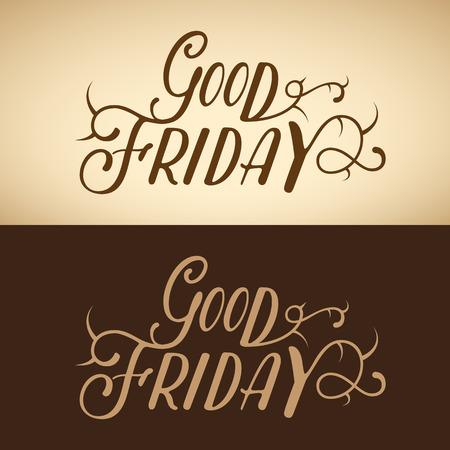 Good Friday background Illustration