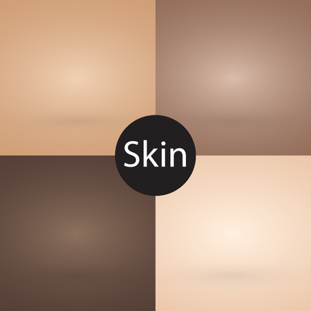 skin color: Skin tone color set background