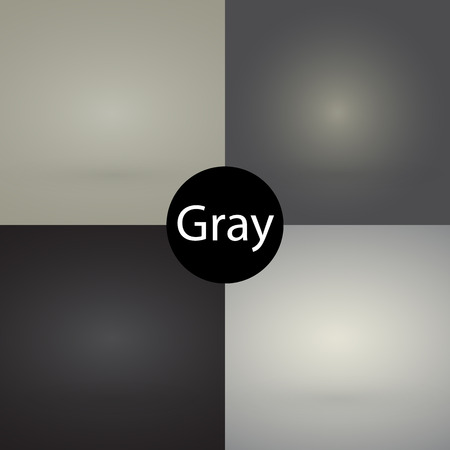 skin color: Gray color set background