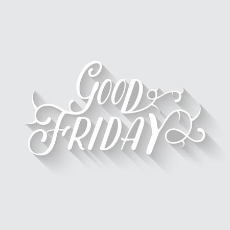 good friday: Happy Good Friday vector eps10 illustration