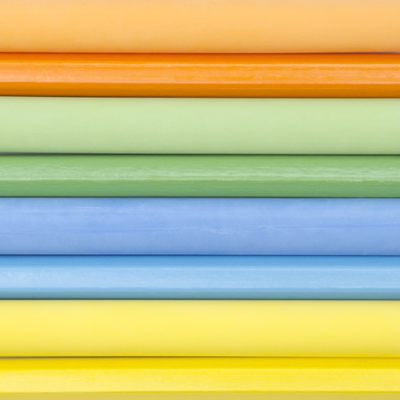 Colorful abstract background from chalk and pencil Stock Photo - 10170901