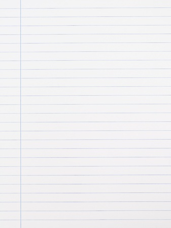 Striped notebook paper texture with left margin Stock Photo - 10319718