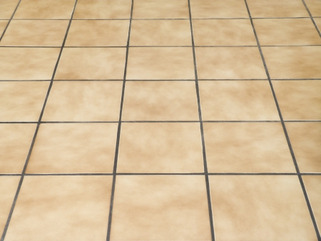 mosaic floor: Brown ceramic floor tiles closeup texture