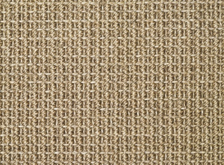 sisal: Beige straw carpet background texture