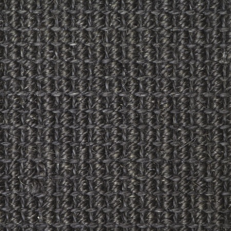 sea grass: Black straw carpet macro background texture