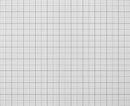 grid background: Squared graph grid paper texture black and white Stock Photo