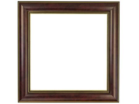 Modern frame isolated on white