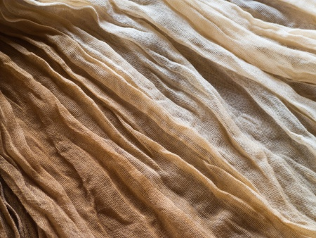 Polyester scarf texture closeup for background Stock Photo - 12665863