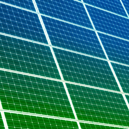 Colorful solar panels for background photo