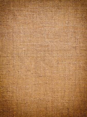 burlap: Grunge canvas with soft vignette