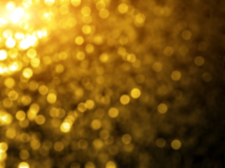 Glowing golden bokeh background photo