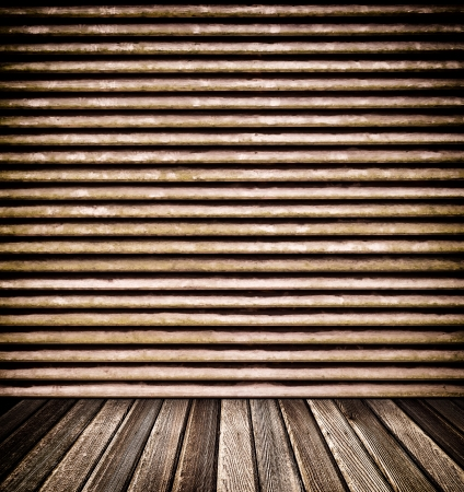 Decorative wooden wall and floor for background Stock Photo - 16533305
